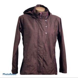 Merrell Opti Shell Women's Hooded Coat Jacket SM